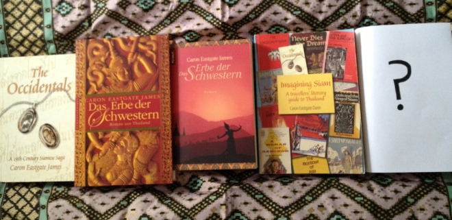 Books by Caron Eastgate Dann (previously James)