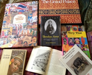 My Thailand book collection