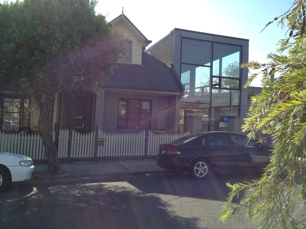 Through a glass, darkly: the strangest house in my suburb (2/3)