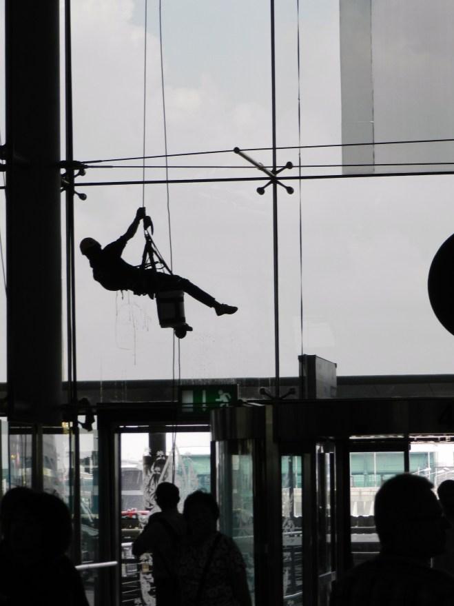 Suvarnabhumi Airport, copyright Caron Eastgate Dann 2012