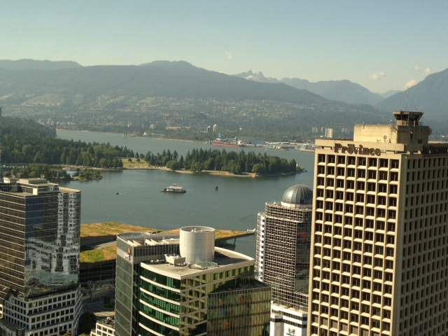 View from the Vancouver Lookout. Photo ©Caron Eastgate Dann