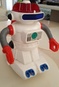 The Space-Robo, made in Japan by Tomy, 1969.