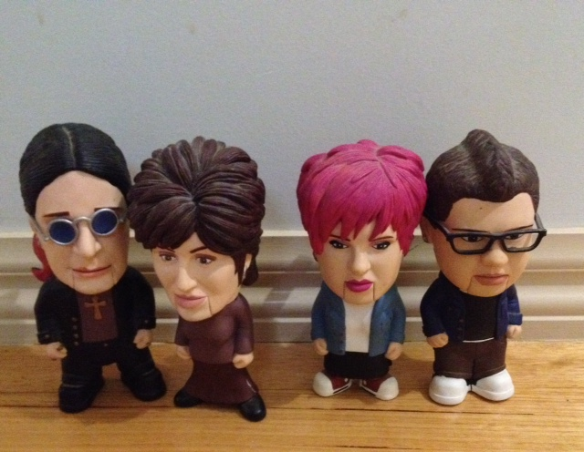 Osbournes talking-head dolls