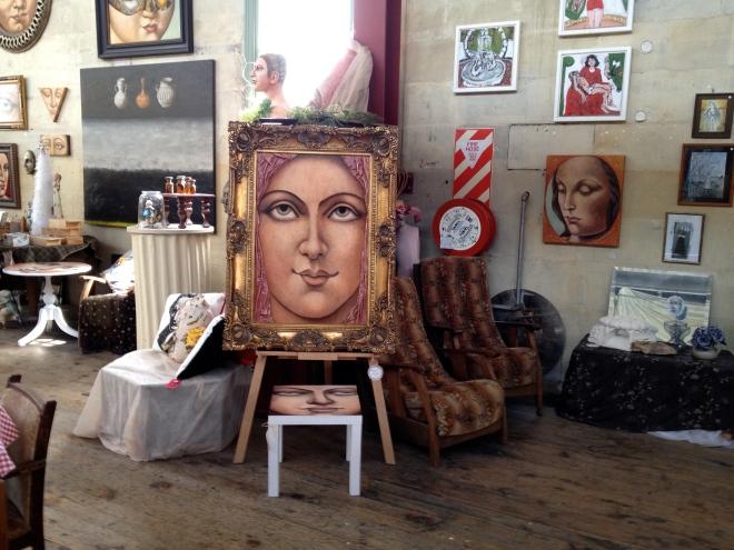 Donna Demente's Grainstore Gallery, Oamaru. Picture ©Caron Eastgate Dann 2013