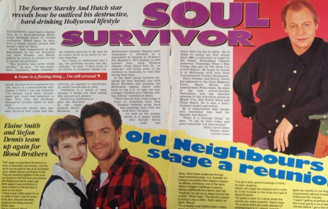 My TV Week story from August 6, 1994.