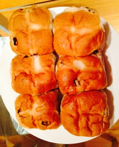 Freshly baked hot cross buns from my favourite Vietnamese-run bakery will be my Good Friday breakfast.