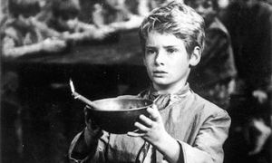 Mark Lester as Oliver Twist in the 1968 film 'Oliver'